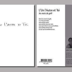 Lun lAutre et Toi-livre-editions linattendue-gaelle fratelli