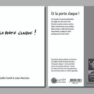 Et la porte claque-editions linattendue-gaelle fratelli-julian marchais