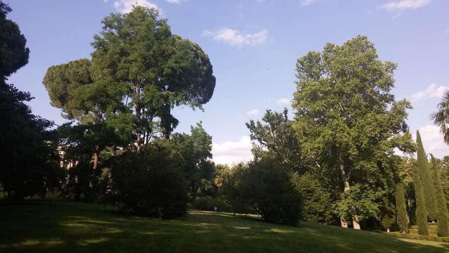 Le parc du Capricio à Madrid