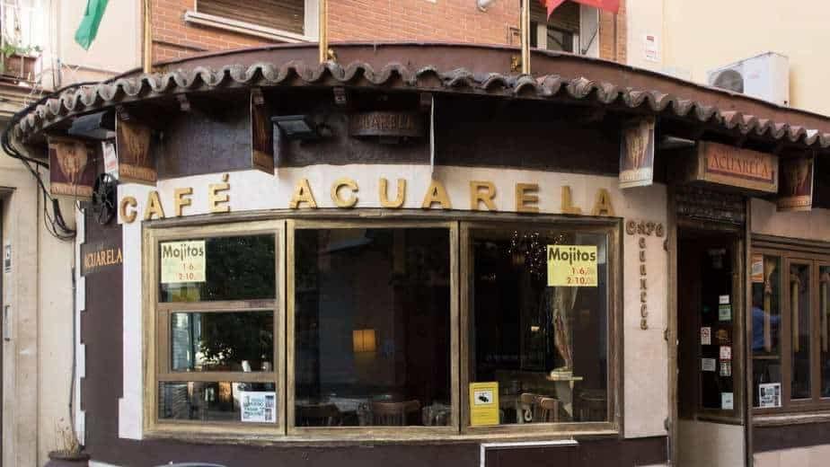 Café Acuarela à Chueca