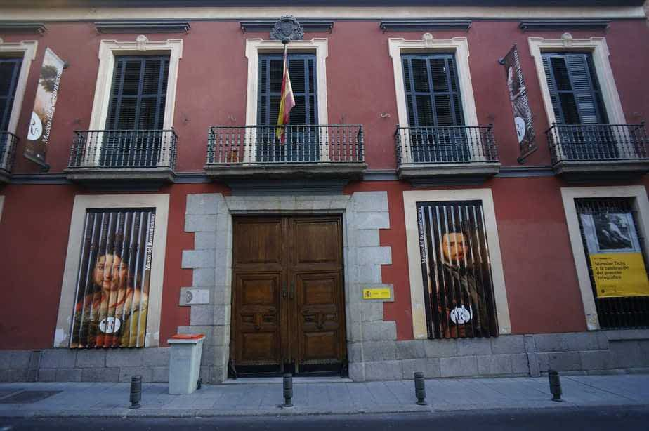 La façade du musée du Romantisme à Chueca